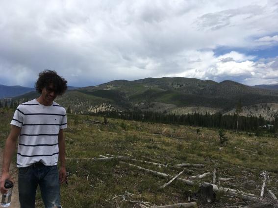 Hiking in Breckenridge!